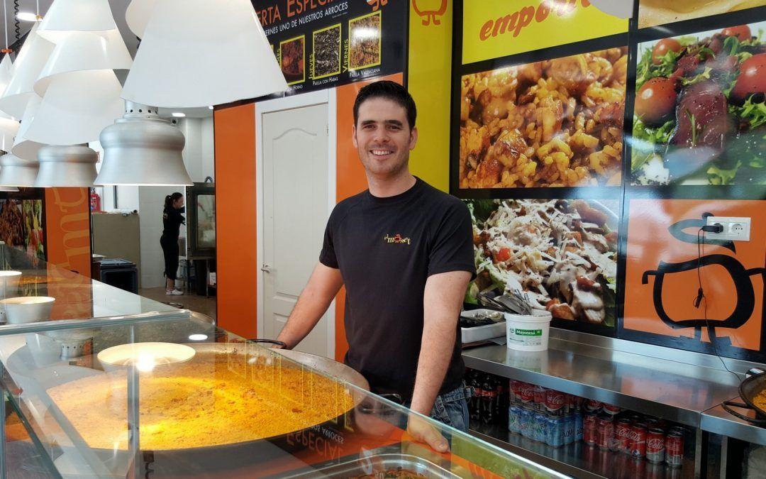 """Entrevista a Alex Boscà propietario de la cadena establecimientos de comida para llevar """"El Mosset"""""""
