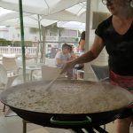 La paella valenciana, todo un espectáculo.