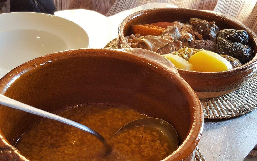El putxero valenciano requiere varias horas de cocción y se ha de hacer a fuego lento.