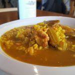 Arròs amb fesols i naps en Ca Fran: un arroz importante