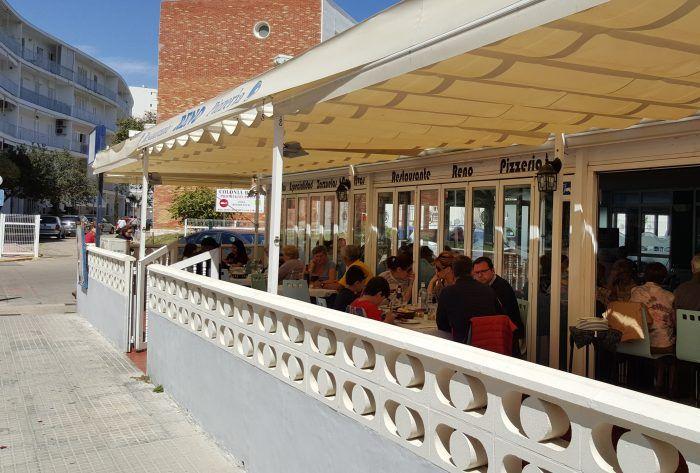 Restaurante Reno en playa de Gandia