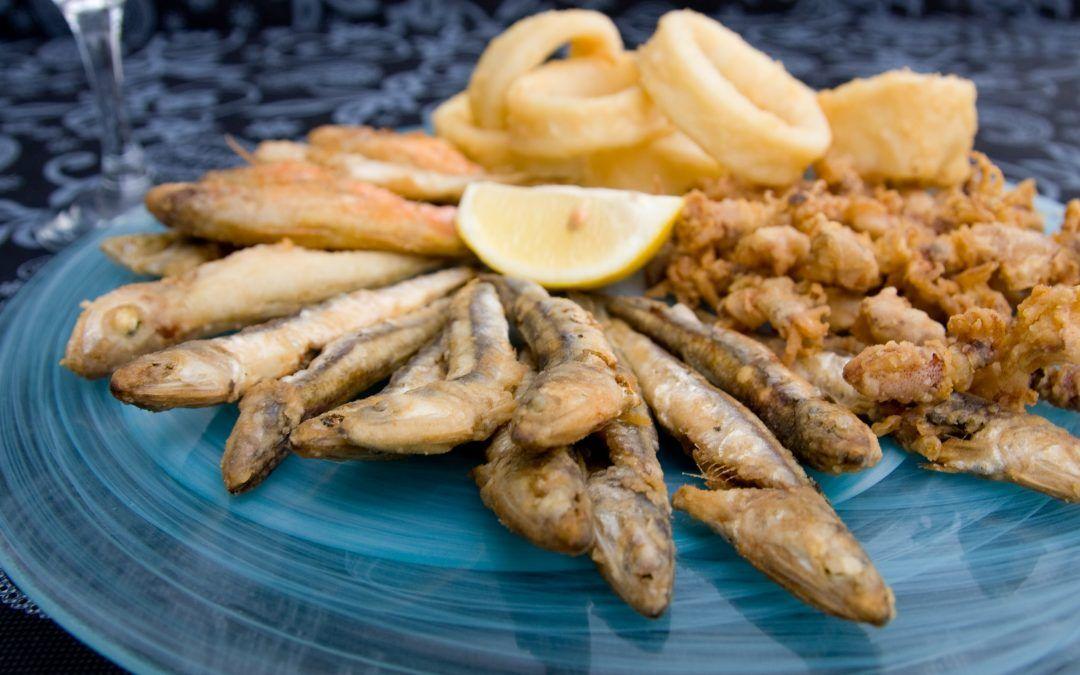 Comer de picaeta en la playa de Gandia