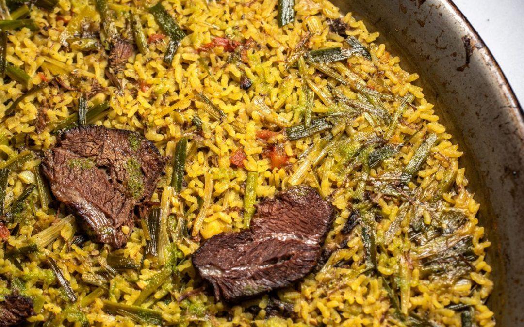 Un arroz fuera de carta en Telero