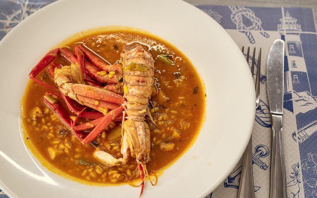 Un arroz de marisco realmente memorable en Chef Amadeo.