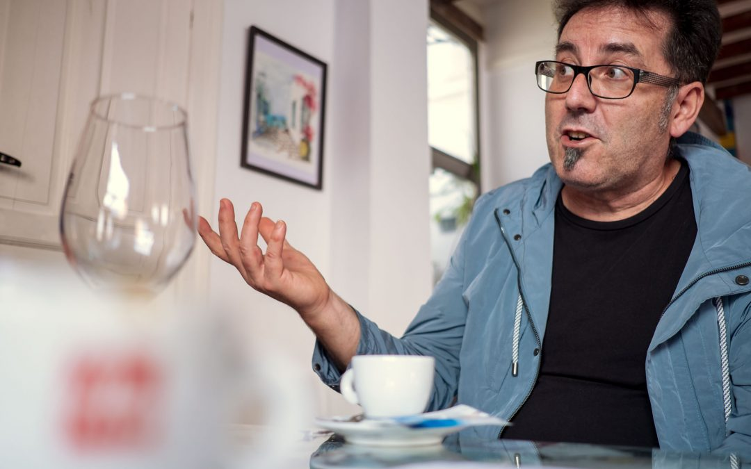 Miquel Ruiz, un cocinero que con ingredientes simples es capaz de componer platos extraordinarios.