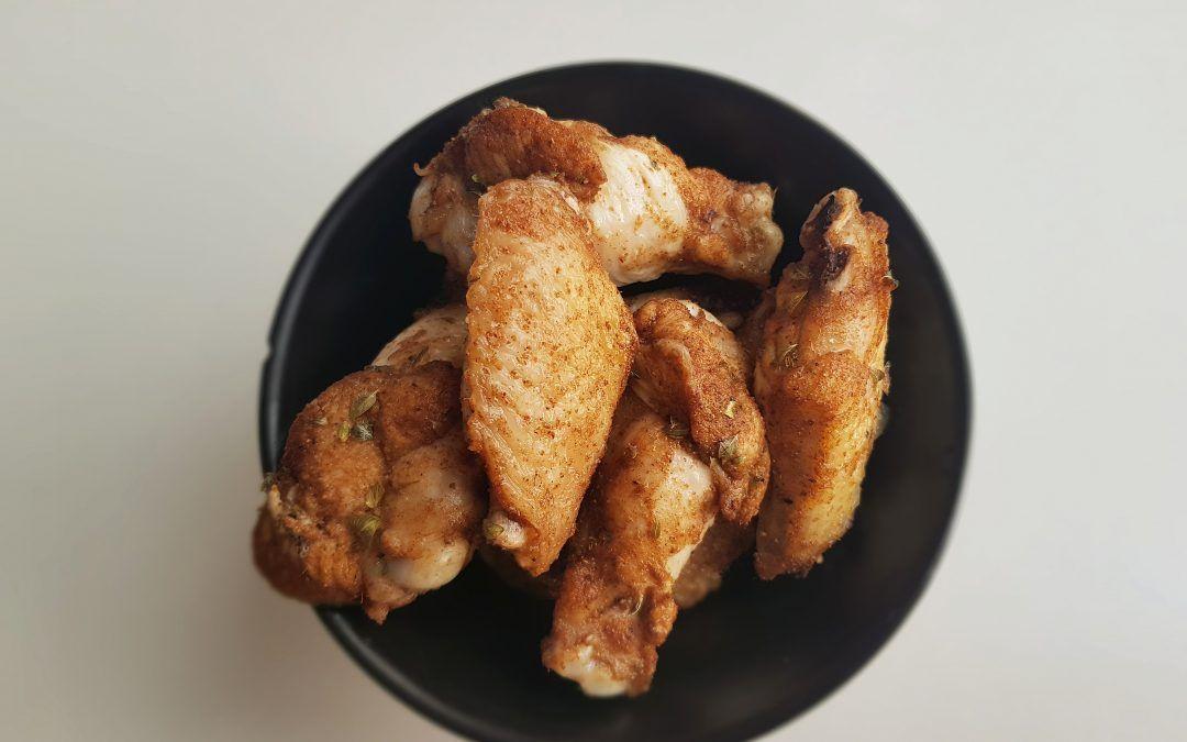 Alitas de pollo con Garam Masala